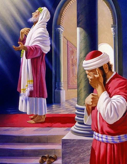 Luke 18: - 14