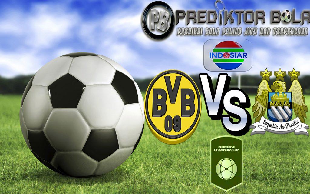 Prediksi Bola Borussia Dortmund vs Manchester City 28 Juli 2016