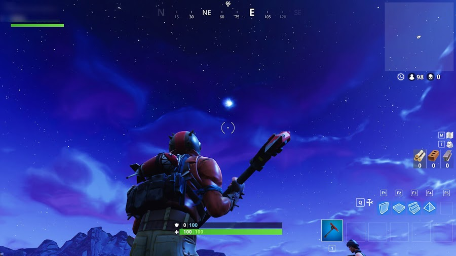 fortnite battle royale comet