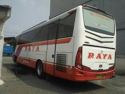 Foto Bus Raya Solo Semarang Jakarta