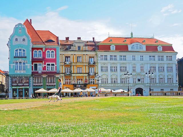 Visit Timisoara Romania European Capital of Culture 2021 Piata Unirii Union Square