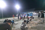 Sambut Malam Lailatul Qadar, Pemuda Desa Paku Gelar Sejuta Lampu