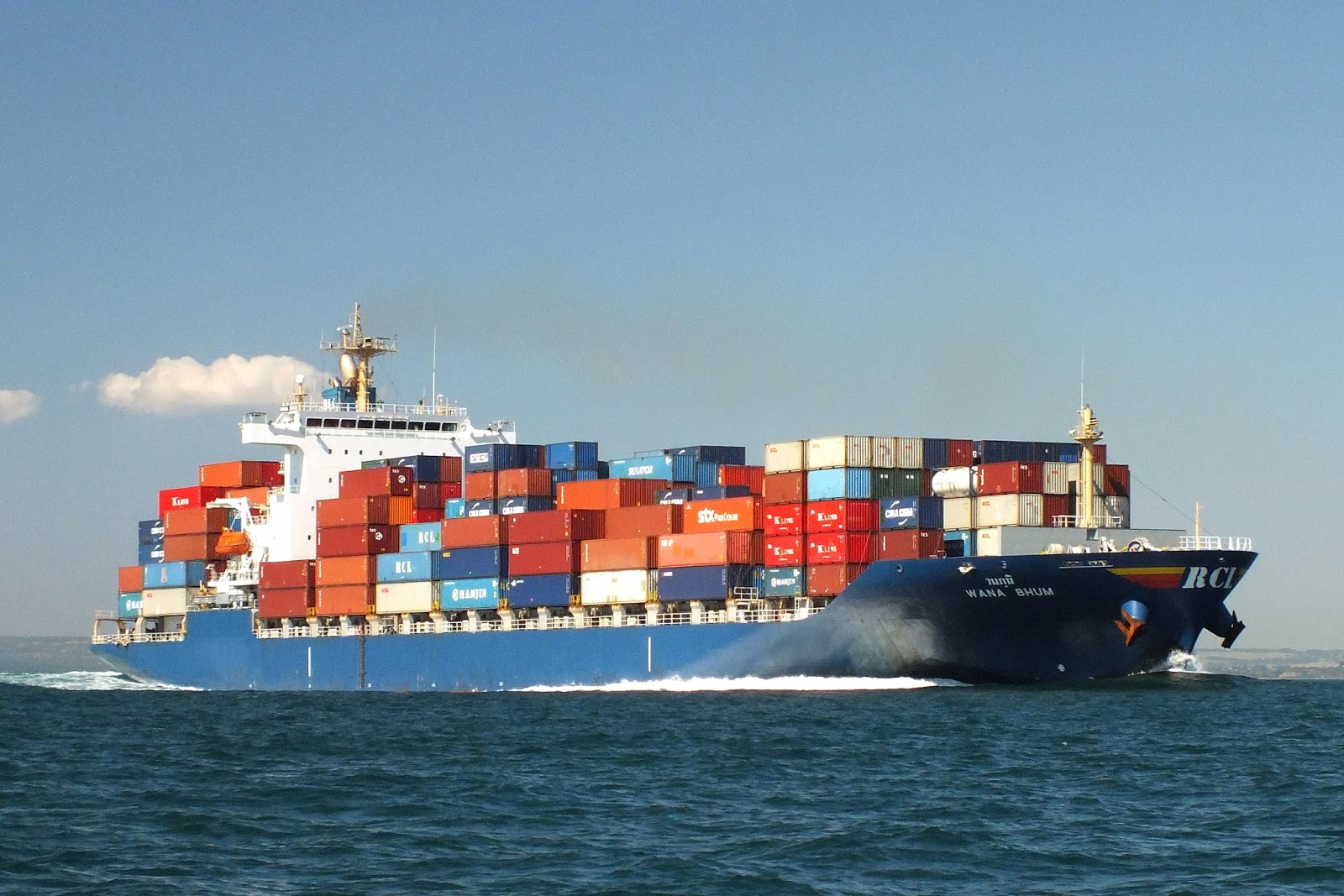 JobAtSea: 2nd Officer on Container Ship