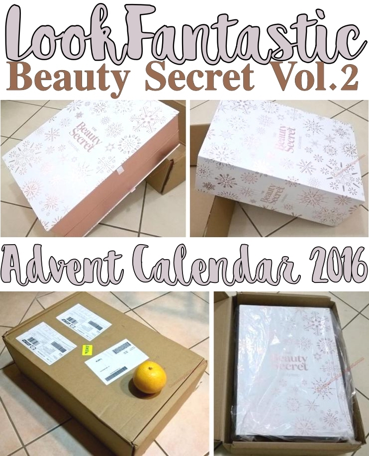 LookFantastic Advent Calendar 2016 Beauty Secret Vol 2 Review, Contents, Unboxing; Comparison vs 2015
