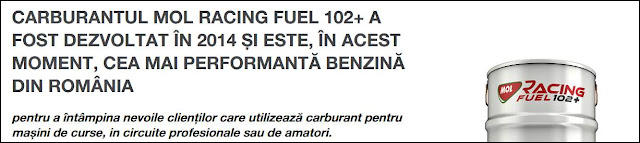 Pareri Forumuri Benzina MOL Racing Fuel 102 plus