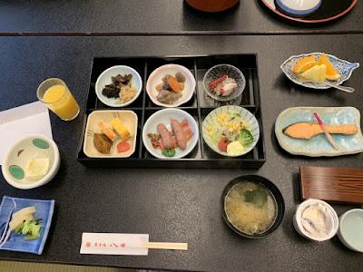 ホテル八田の朝食