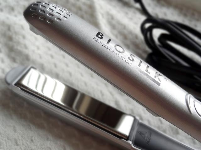 """Biosilk 1"""" Titanium Flat Iron"""