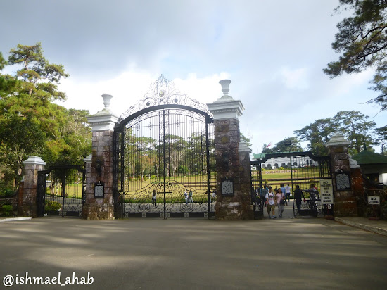 The gate of the Mansion House of Baguio City
