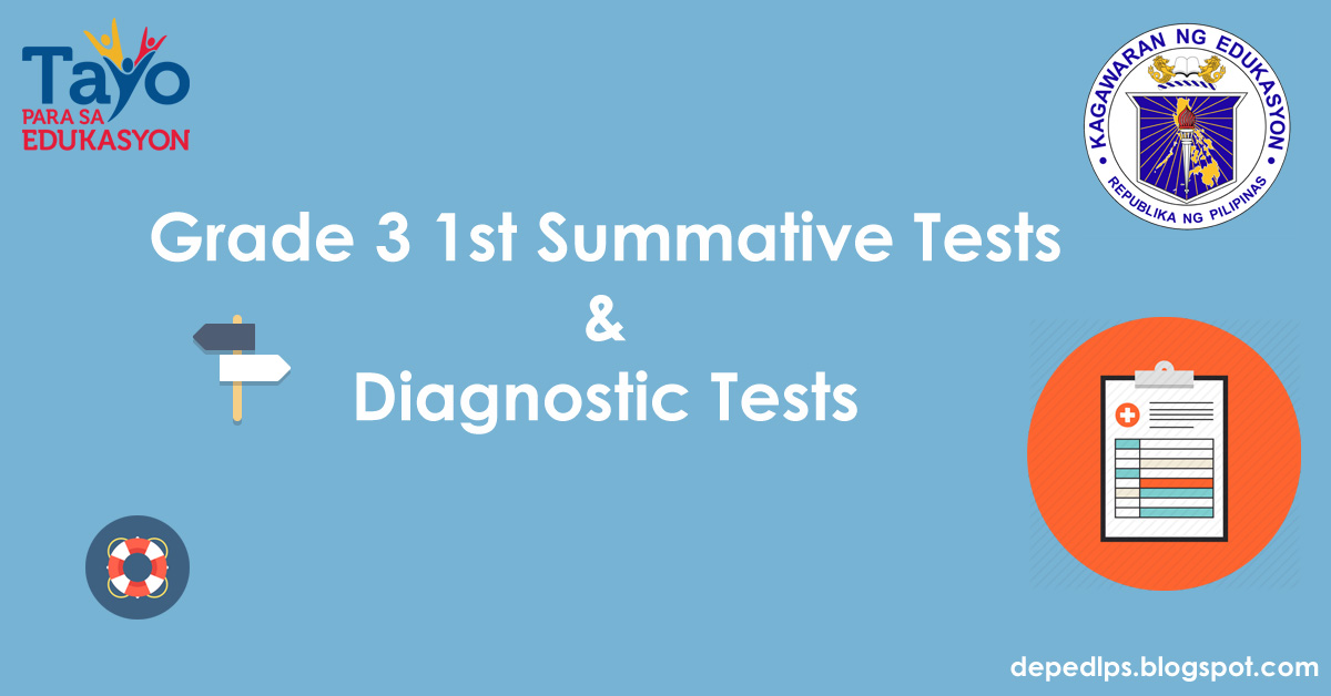 1st summative test english v Summative tests 1st-4th all grade 5 summative test 1st-4th maam please include other subjects the one you uploaded was only english subject.