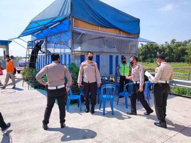 Ribuan Personil Dilibatkan Dalam Operasi Ketupat Semeru 2020 Dalam Rangka Mendukung Himbauan Presiden Untuk Tidak Mudik dan Mencegah Penularan Covid 19