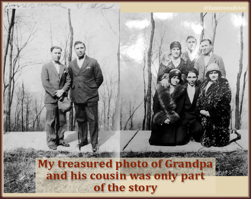 Grandpa's photo had no backstory. Suddenly I discover it was only one photo in a series.