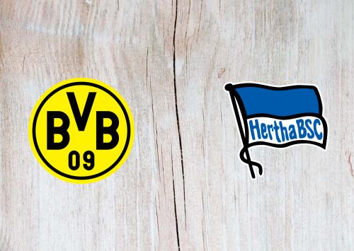 Borussia Dortmund vs Hertha BSC -Highlights 6 June 2020