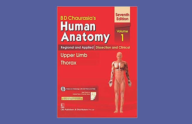 Download BD Human Anatomy Upper Limb and Thorax Volume 1 PDF for free