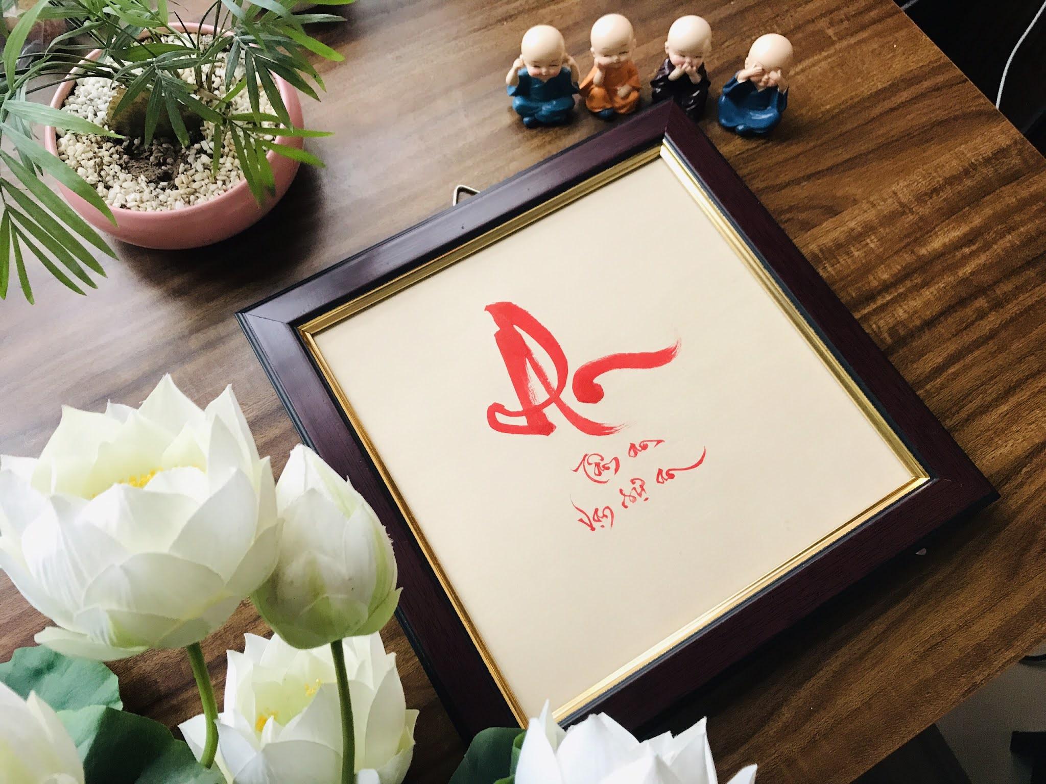 Viết thư pháp chuyên nghiệp cho khách hàng tại Ninh Bình