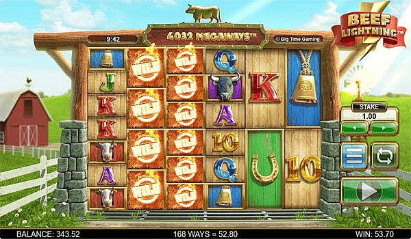 Main Gratis Slot Indonesia - Beef Lightning Megaways Big Time Gaming