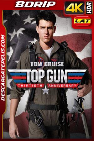 Top Gun (1986) 4k BDrip HDR Latino – Ingles