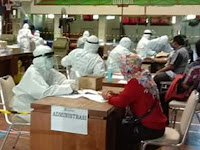 362 Pengunjung Indogrosir Ikuti Rapid  Test Massal Tahap Dua,  6 Orang Reaktif