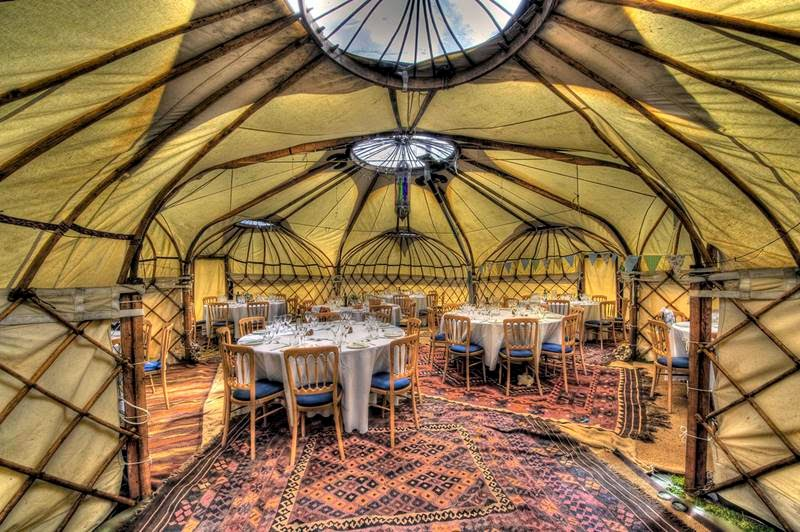 M,ongolian Yurt, As rooms for meetings and business meetings.