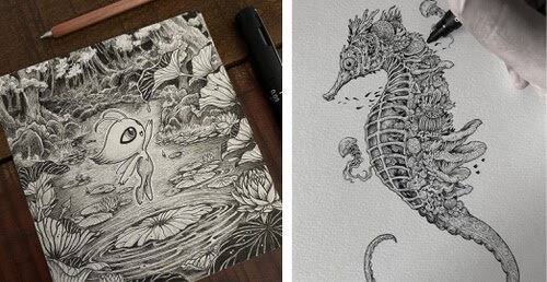 00-Fantasy-Creature-drawing-Kerby-Rosanes-www-designstack-co