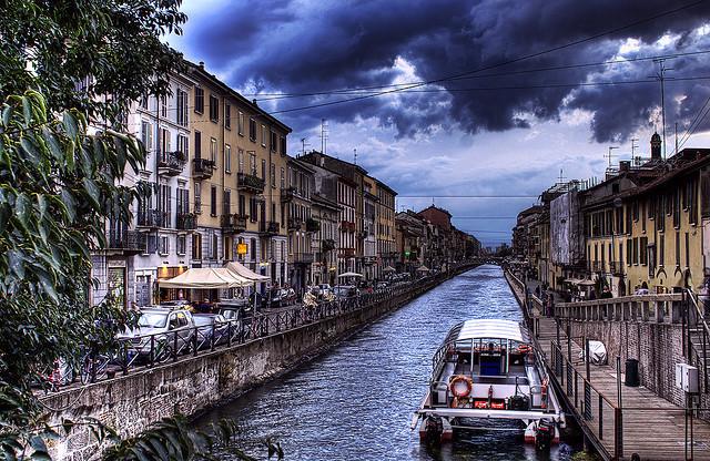 Principais cidades turísticas na Itália
