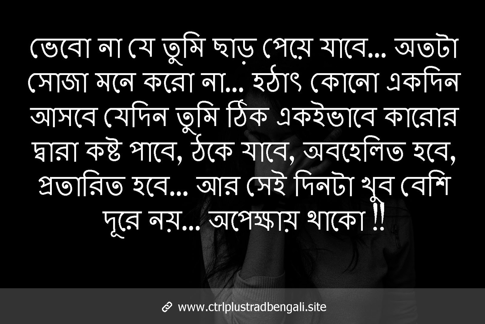 Bangla Sad Quote
