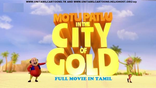 Motu Patlu In City Of Gold Full Movie In Tamil