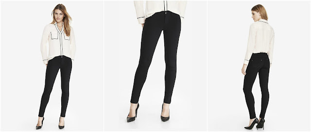 Express Ponte Knit Five-Pocket Pants $36 (reg $60)
