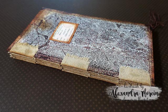 tab binding junk journal