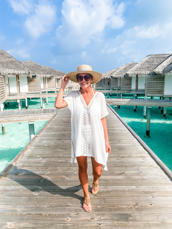 White Coverup Honeymoon in Maldives - Chasing Cinderella