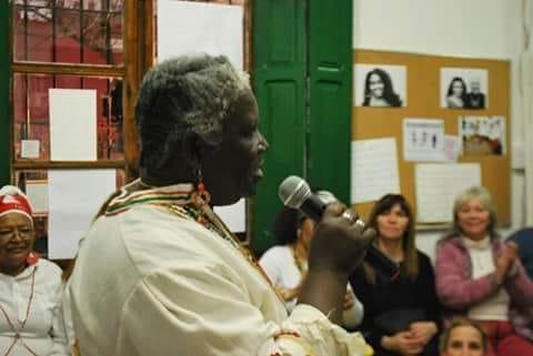 Martina Barra Pedreros, gestora cultural y defensora de los derechos de los afrodescendientes / FACEBOOK