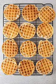 These cinnamon banana waffles have the perfect banana flavor. They're easy to make, and totally delicious!