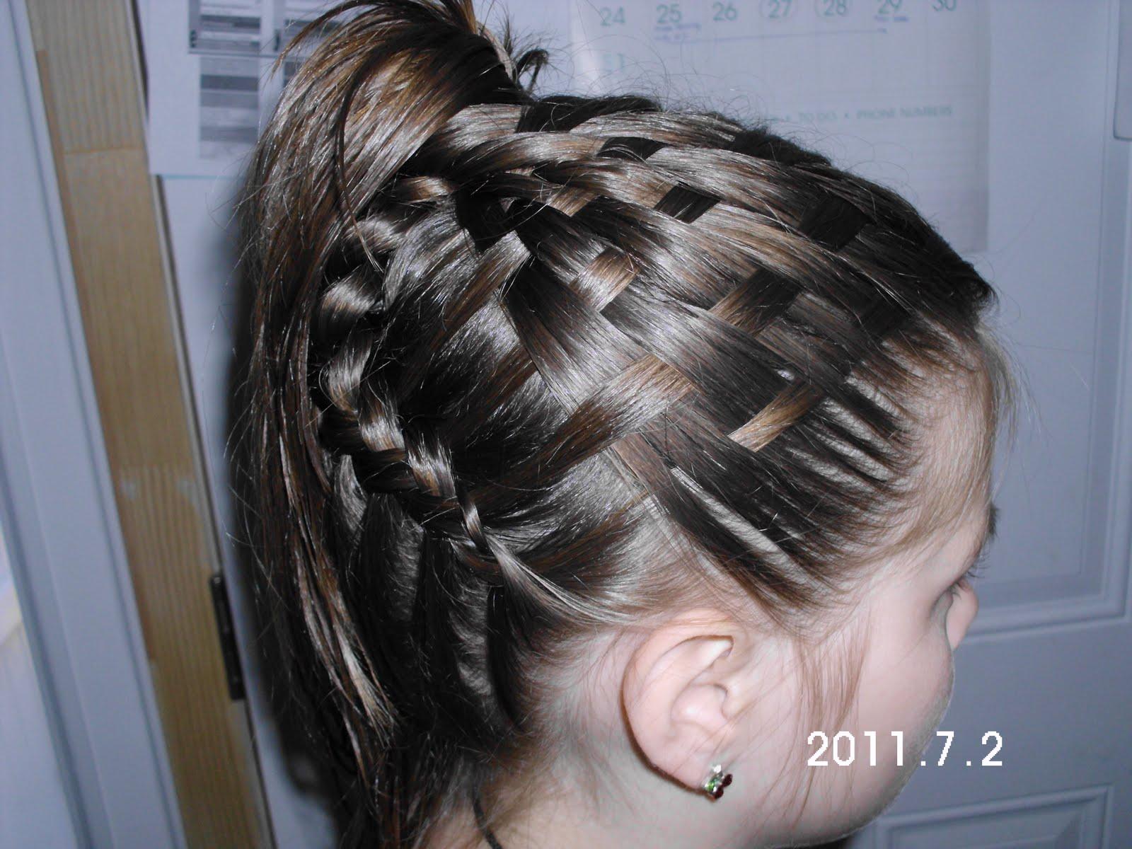 Unique Hair Styles: Ladies Era: New Unique Basket Hair Style
