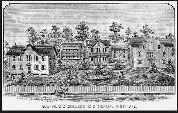 Southland College in what is now West Helena