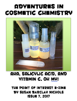 Check out my new e-zine - AHA, salicylic acid, and Vitamin C! Oh my!