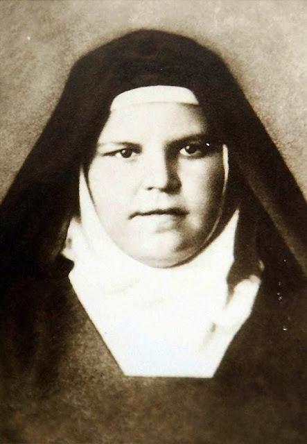 Beata Maria de Jesus Crucificado, com hábito após a profissão