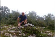 Telleta (Labazar, Arangatxa) mendiaren gailurra 920 m. - 2017ko uztailaren 21ean
