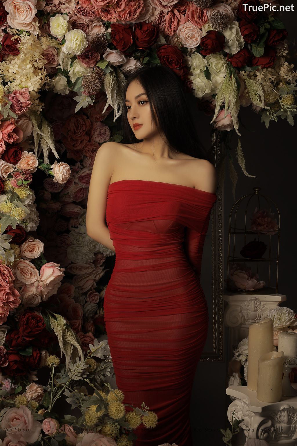 Image Vietnamese Model - Beautiful Girl and Flowers - TruePic.net - Picture-9