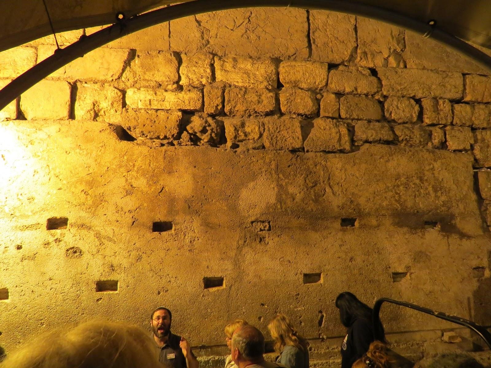 Elaine Bonds The Rabbis Tunnel Jerusalem