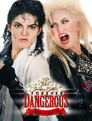 Michael Jackson guitarist Jennifer Batten. PunkMetalRap.com
