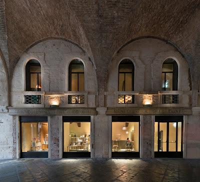 Foto scattata il 24 dicembre 2014 in occasione dell'apertura al pubblico del nuovo Museo del GIoiello di Vicenza.