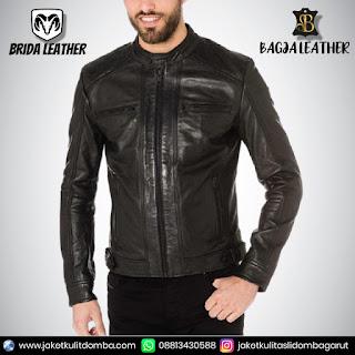 jaket kulit panjang