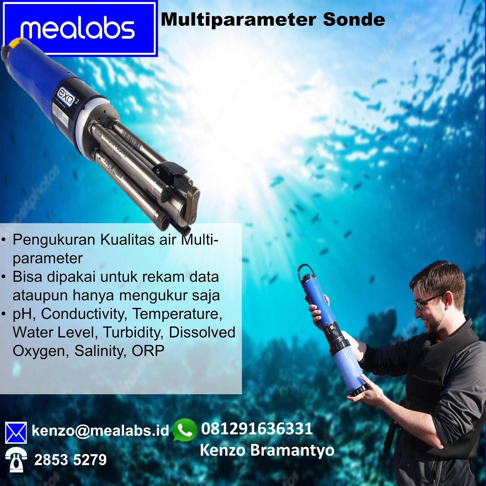 Jual Data Logger Level Air