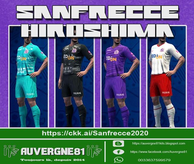 Sanfrecce Hiroshima GDB 2020 Kits PES 2013