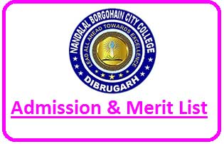 NLB City College Merit List