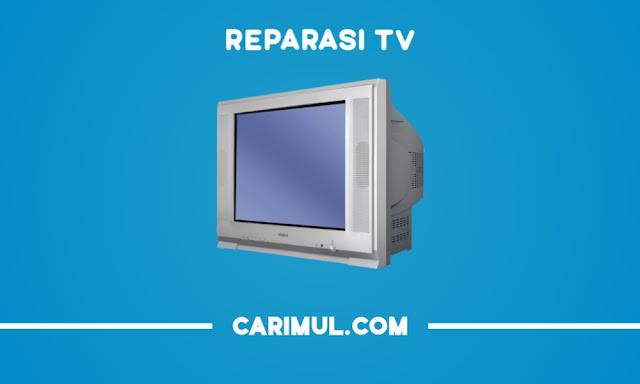 Memperbaiki Gambar TV hanya Segaris