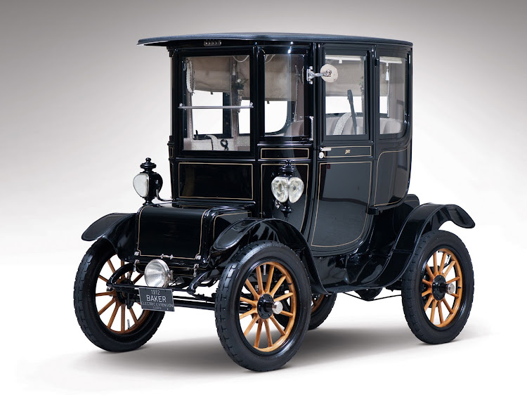 Baker Electric Extension Coupe, 1912