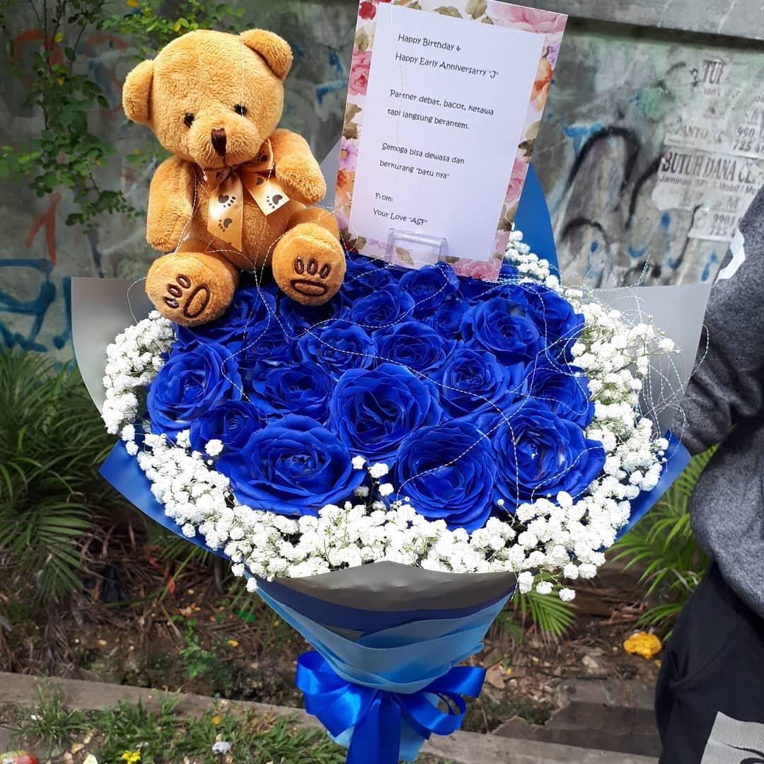 Karangan Bunga Tangan Hand Bouquet 031