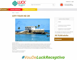 Luck Receptivo - Salvador - Bahia