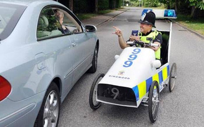 Mobil Pedal Polisi