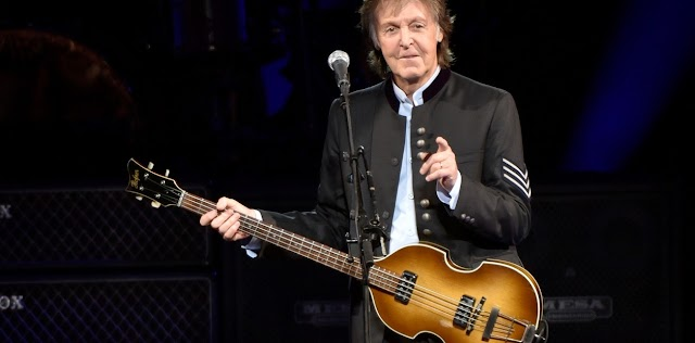 'ATR dog cumbia cagetealing good, cat' el agite de Paul McCartney en su recital en Londres